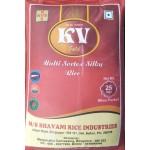K V Gold Brand Sona masoori raw rice 1yr old ( min ord 100kg or 4bag )