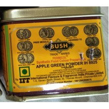 ORANGE RED Powder Bush Brand 100 gm Tin