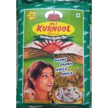 Sona Masuri Raw Rice Kurnool Brand 1yr Old 25kg (Min Ord 4 Bag)