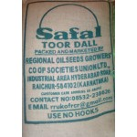 Toor dall Safal brand  50kg