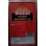 Safal refined Groundnut oil  15 kgs Tin