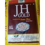 J H Gold Raw Rice Sona Masoori 1yr old 25kg  (min ord 100kg)