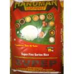 Hanuman raw rice sona masoori 1yr old 25kg (min order 100kg)