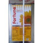 Fortune Refined Sunflower Oil 15kg Tin